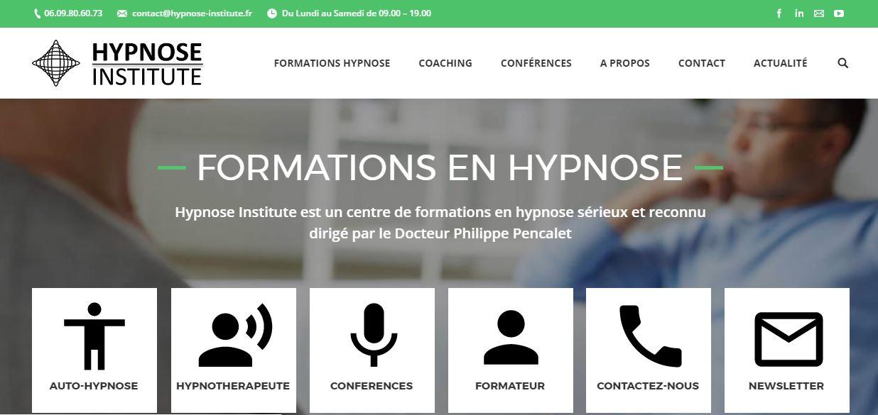 Hypnose Institute accompagné par GF Digital Consulting